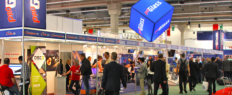 ProGlass Messestand auf der Automechanika 2014 in Frankfurt am Main