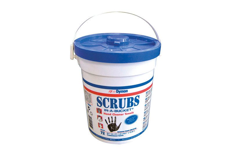 SCRUBS-IN-A-BUCKET Handreinigungstücher 72 Tücher (ca. 27 x 31 cm) im Spendereimer