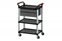 Tool Cart with two racks & two draws