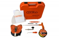 Fibre Line Removal Device Orange Bat Complete kit in plastic case